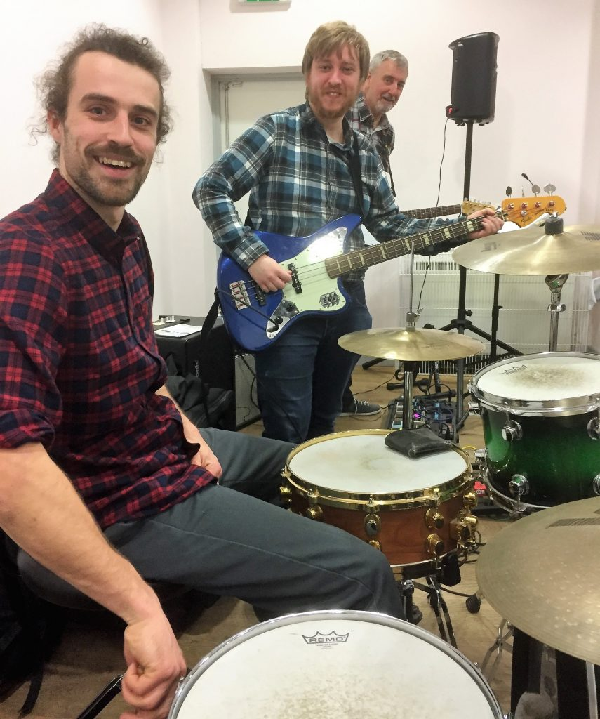 The Boys in the Rhythm Section